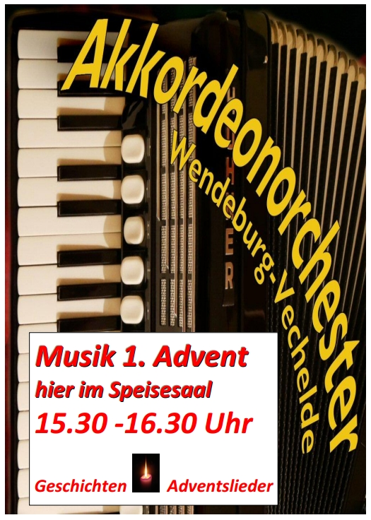 Plakat Akkordeonorchester